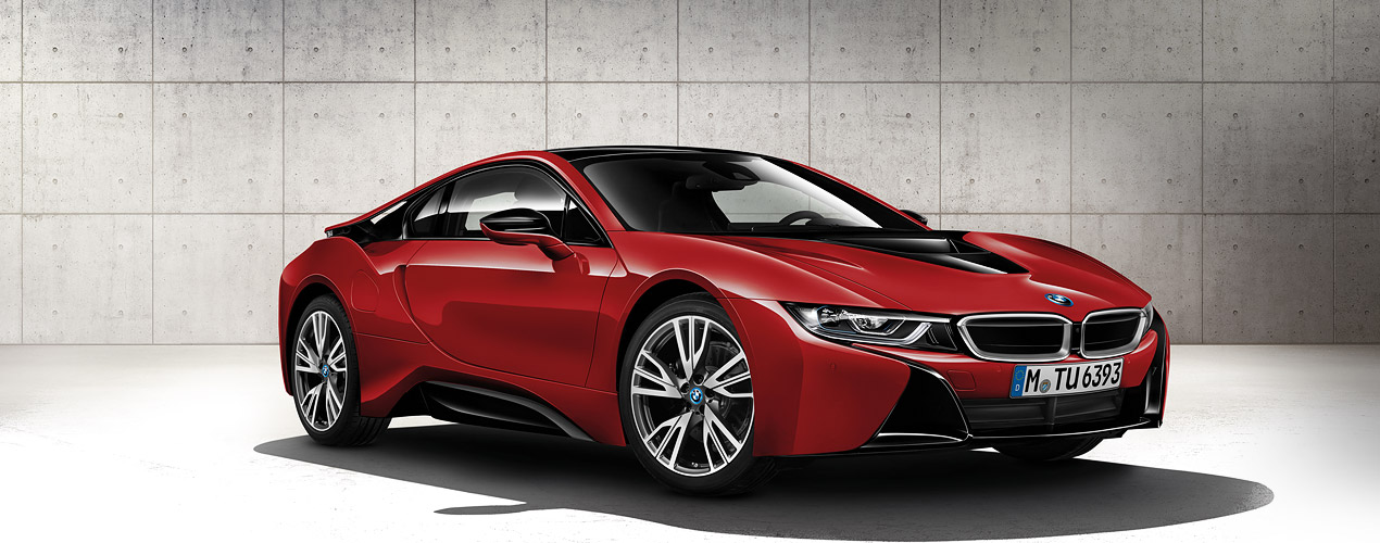 bmw i8 protonic red edition d sirable ic ne de design rdpmag. Black Bedroom Furniture Sets. Home Design Ideas
