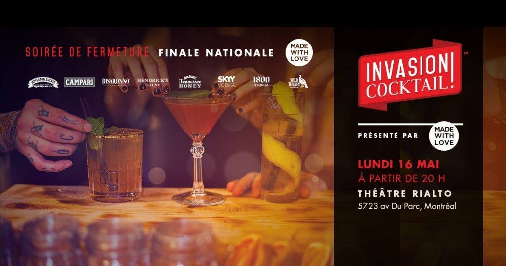 Invasion Cocktail 2016 Finale Made With Love