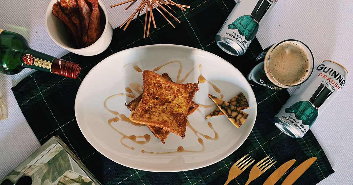 Jameson and Guinness French Toast - cover