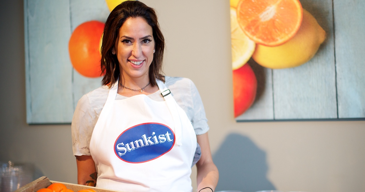 Discover Sunkist Growers citrus with Kimberly Lallouz