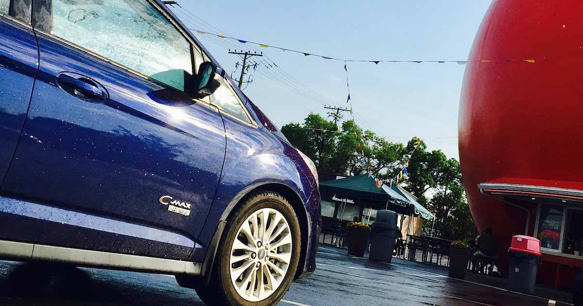 #GoFurther150 Visit the mythical Orange Julep with the 2017 Ford C-Max Energi