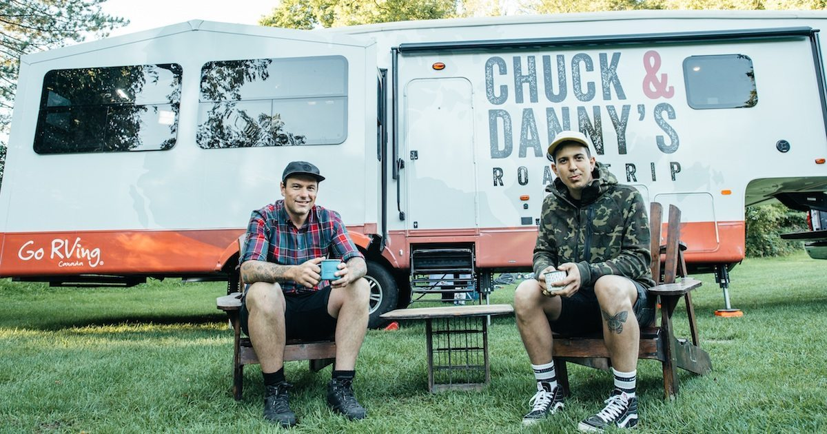 Chuck Hughes and Danny Smiles Road Trip in RV across Canada