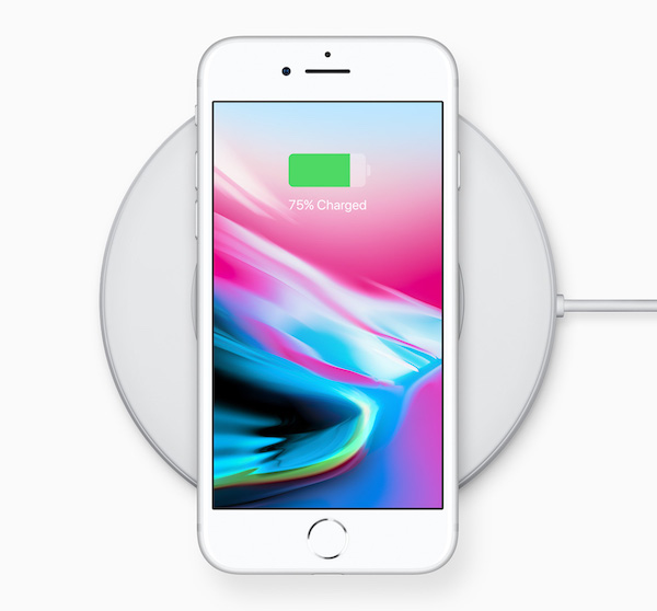 nouveautés Apple 2017 - iPhone 8 Charge