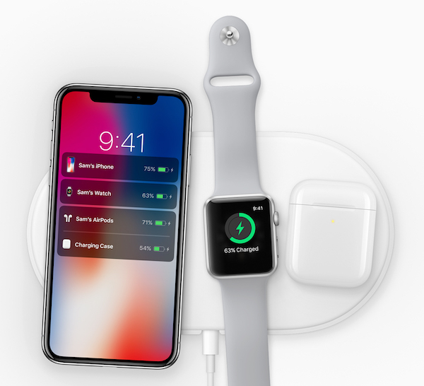 nouveautés Apple 2017 - iPhone X Charge