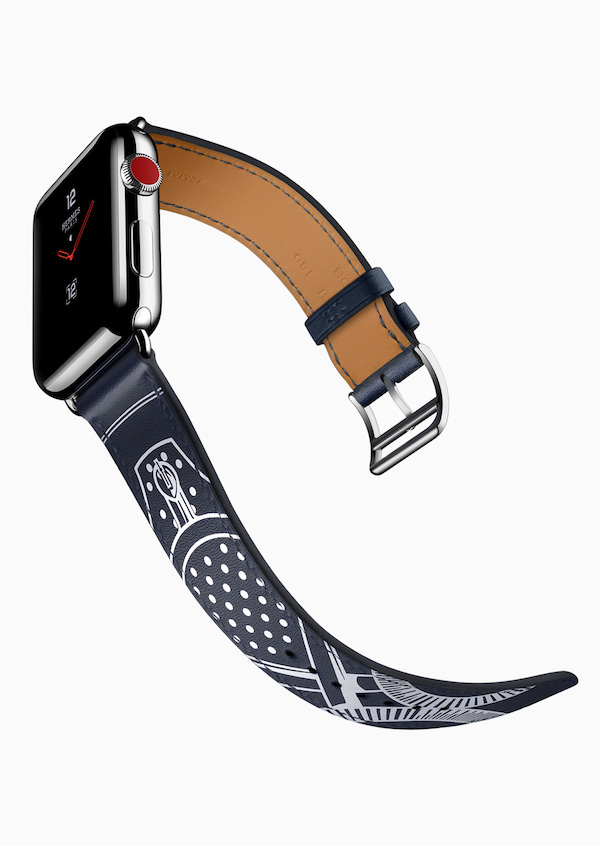 New Apple Products Fall 2017 - Apple Watch Séries 3 Hermès