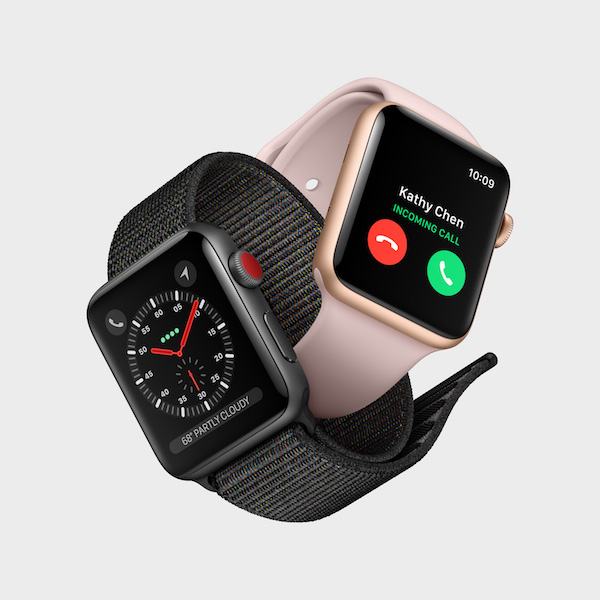 New Apple Products Fall 2017 - Apple Watch Series 3