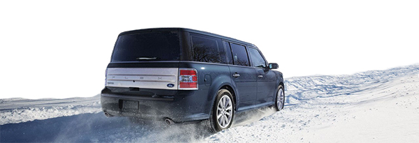 Winter Driving with Ford - Flex
