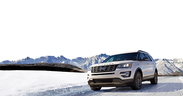 Winter Driving with Ford - Explorer