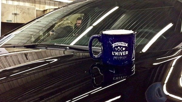 Winter Driving with Ford - Explorer + Mug