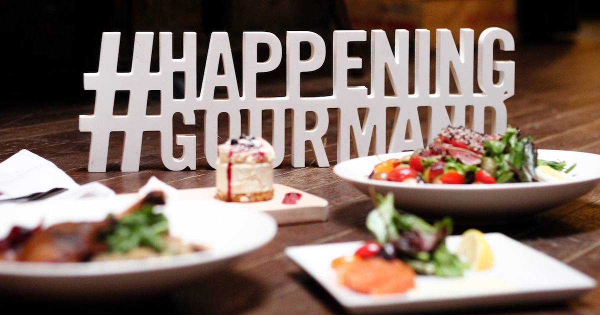 11th edition of Happening Gourmand - Cover