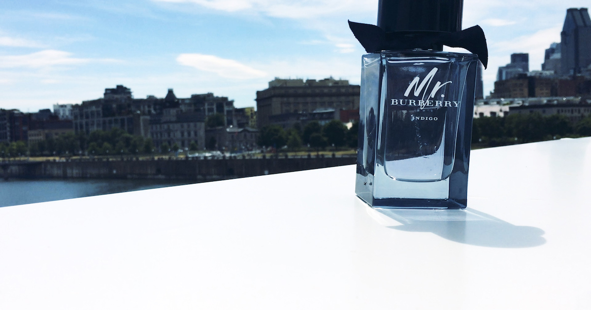 f62540f784 Mr. Burberry Indigo for Men, your perfume for the summer. - RDPMAG
