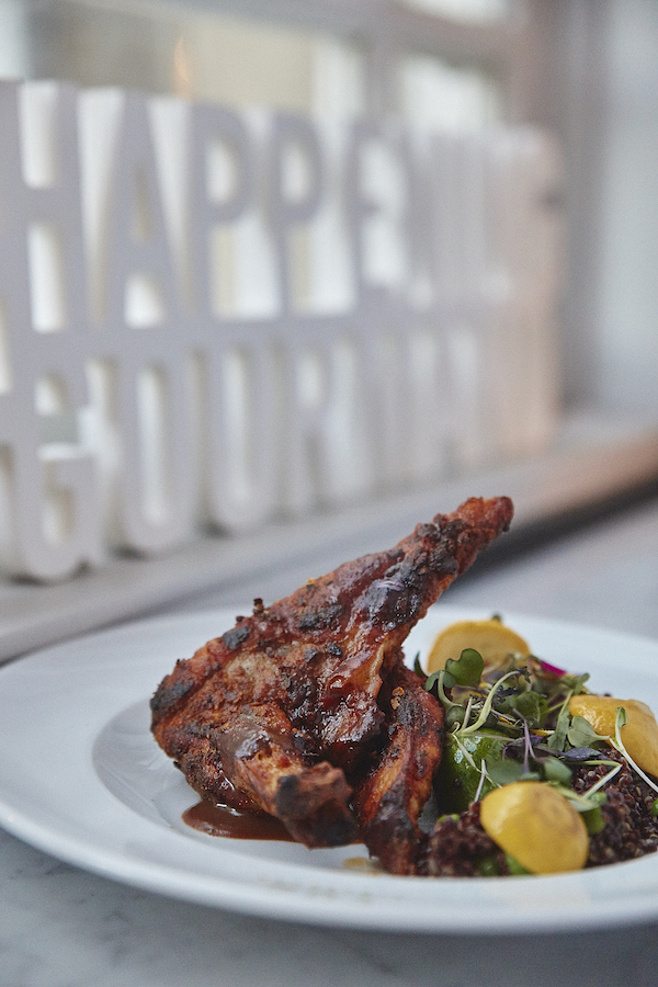 2019 Happening Gourmand - Brasserie 701 - Grilled Guinea fowl