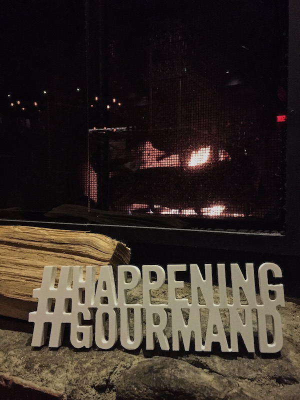 2019 Happening Gourmand - Vieux-Port Steakhouse - Fireplace