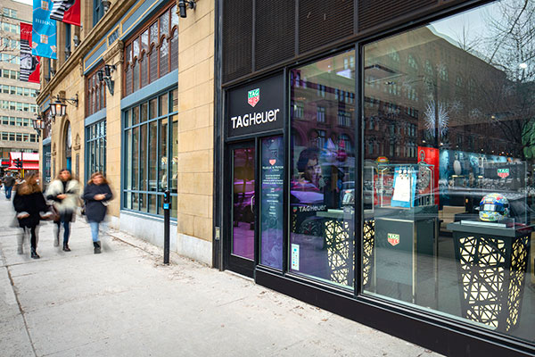 TAG Heuer Museum in Motion- Pop Up Store Exterior - Olivier Blouin