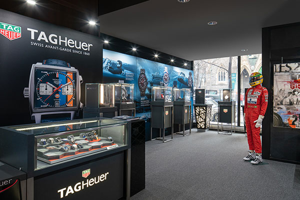 TAG Heuer Museum in Motion- Pop Up Store Inside - Olivier Blouin