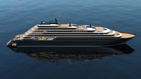 The Ritz-Carlton Yacht Collection: Luxury hotel on the sea