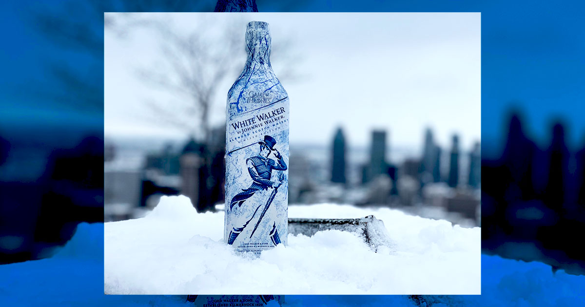 White Walker par Johnnie Walker - Couverture