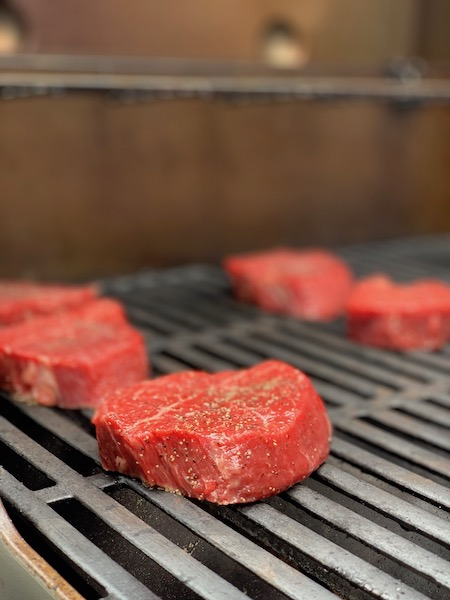 Meat Cooking on Weber Genesis II Photo: Normand Boulanger | RDPMAG