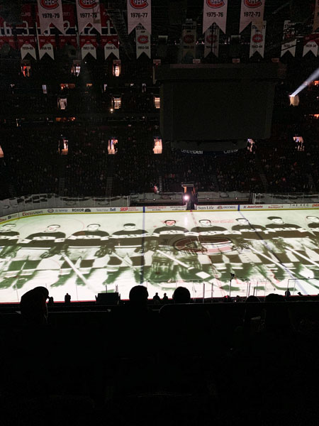 Ford Edge and the history of hockey in Montreal - Bell Center history Credit: Normand Boulanger | RDPMAG