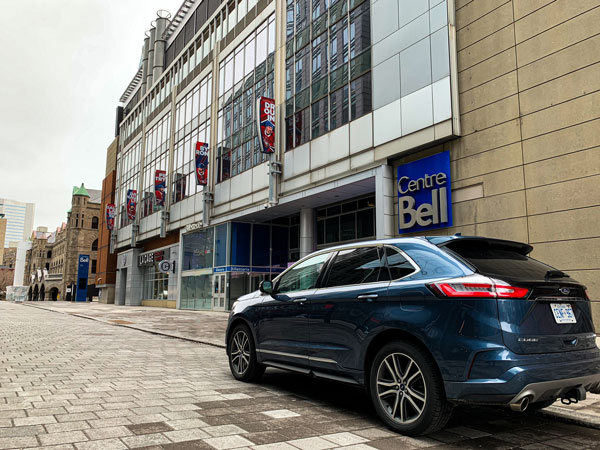 Ford Edge and the history of hockey in Montreal - Bell Centre Credit: Normand Boulanger | RDPMAG
