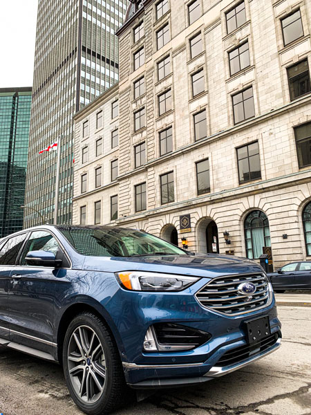Ford Edge and the history of hockey in Montreal- Hotel Windsor Ford Edge Credit: Normand Boulanger | RDPMAG