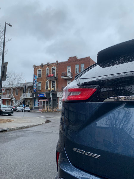 Ford Edge and the history of hockey in Montreal - Ménick Credit: Normand Boulanger | RDPMAG
