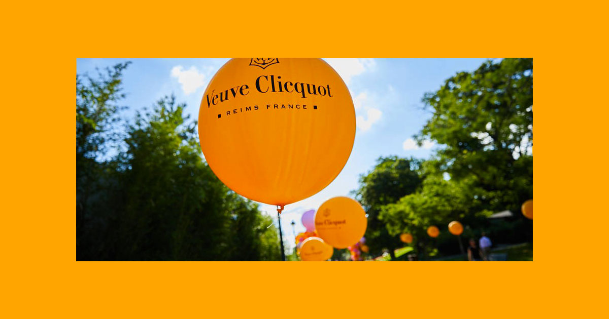 Yelloweek par Veuve Clicquot - couverture